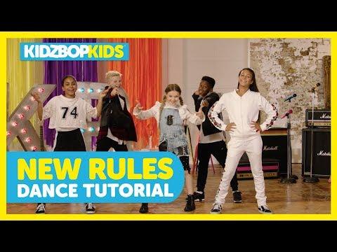 KIDZ BOP Kids - New Rules (Dance Tutorial) [KIDZ BOP Summer '18] Mp3