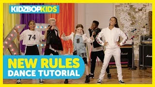 KIDZ BOP Kids - New Rules (Dance Tutorial) [KIDZ BOP Summer '18]