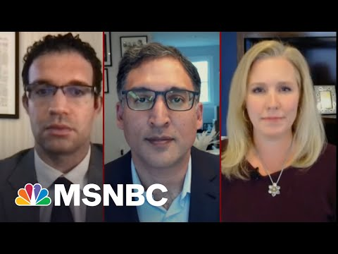 A New Lawsuit Holds Trump Directly Responsible For The Capitol Hill Riot | Deadline | MSNBC