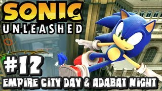 Sonic Unleashed (360/PS3) - (1080p) Part 12 - Empire City Day & Adabat Night