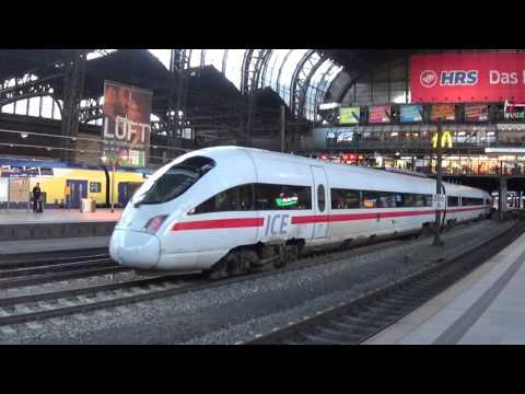 Hamburg Central Station & Trains