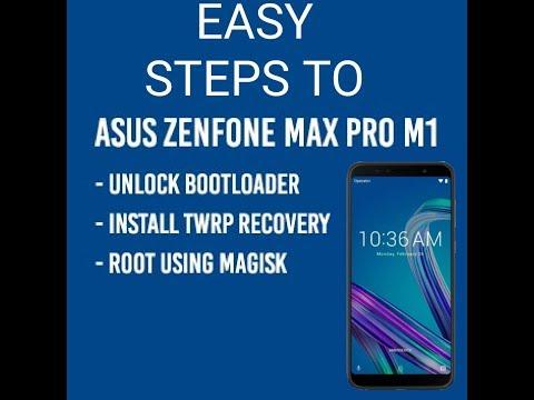 Asus Zenfone Max Pro M1-How to Root/Unroot Unlock/Relock Bootloader