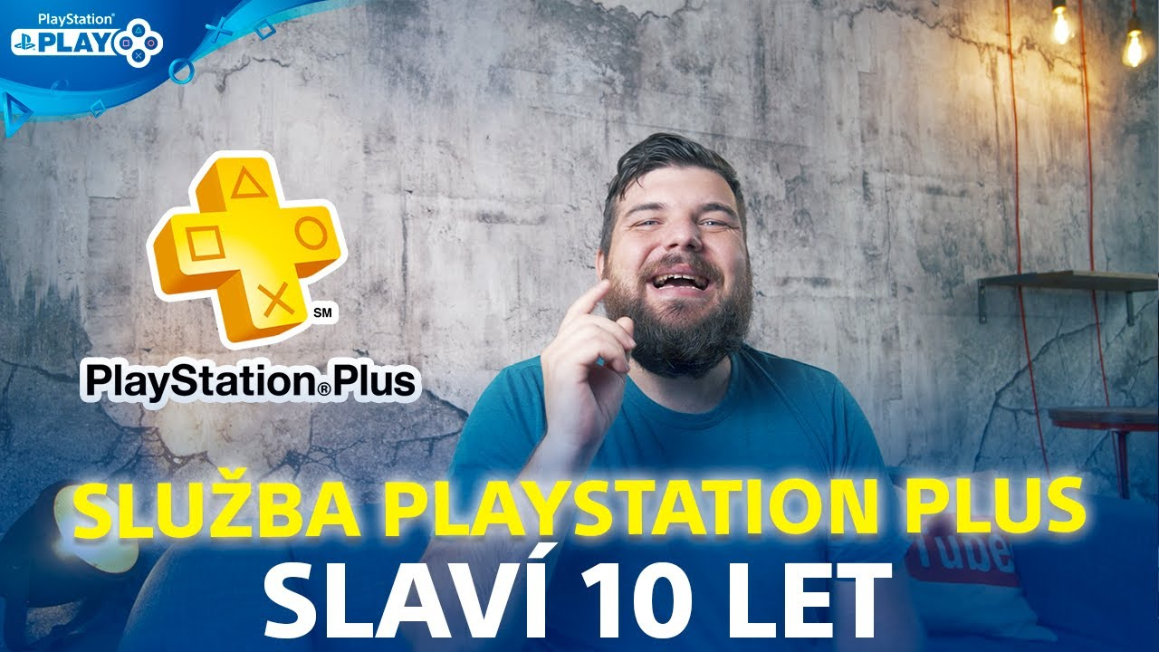 PLAYSTATION PLUS slaví 10 LET | Infobox