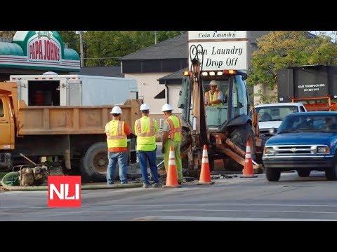 Three Broken Water Mains Shut Down Multiple Muncie Restaurants Youtube