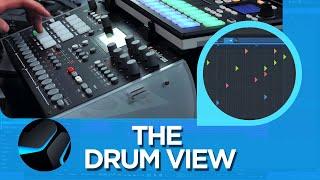 The Drum View in #StudioOne