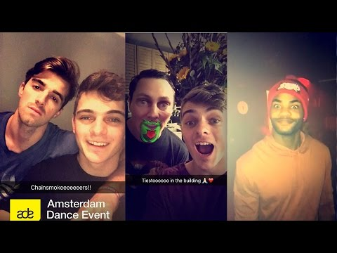 Martin Garrix Snapchat Video Ft Tiesto,The...