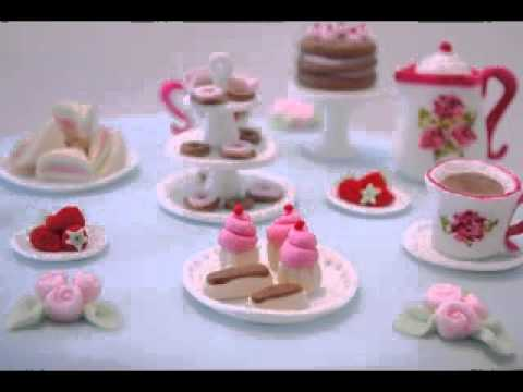 Tea Party Birthday Cakes Decorations Ideas