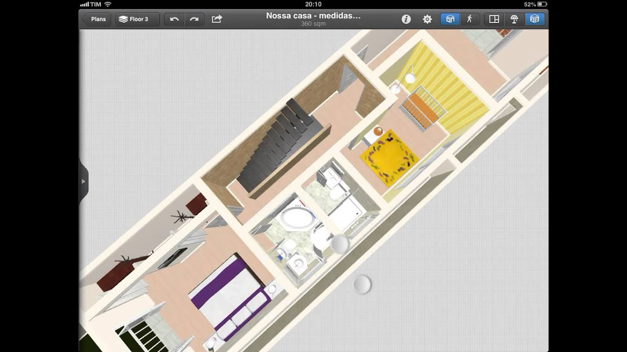 Projeto casa 3d sobrado 5x25   #B59516 1024 768
