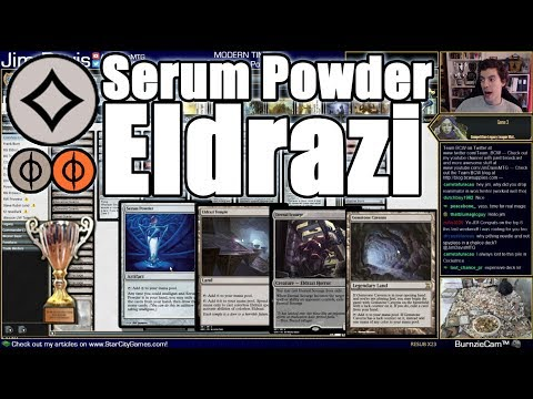 Serum Powder Means More Eldrazi Temples!