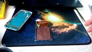 Замена тач-скрина на Samsung J1 mini (j105h) ЧАСТЬ 3