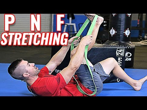 PNF Stretching Routine & Techniques - How To Contract Hold Relax - YouTube