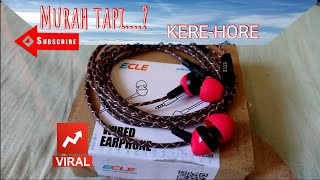 earphone ECLE EPE-T3A original
