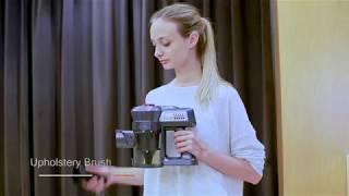 Dibea C17 Cordless 2 in 1 Lightweight Stick Handheld Vacuum Cleaner