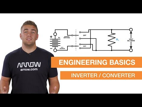 The Difference Between Inverters, Converters, Transformers, and Rectifiers