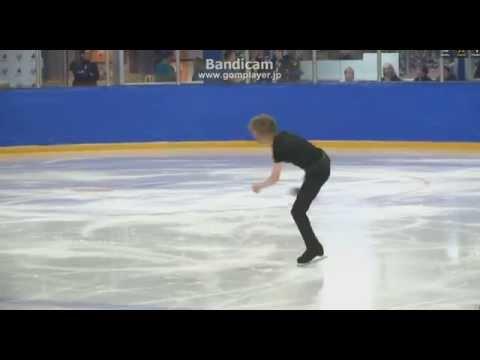 Kevin REYNOLDS SP Skate Canada Autumn Classic 2014