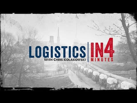 The Civil War in Four Minutes: Logistics