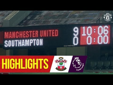 MATCH REACTIONS Manchester United vs Southampton 9 0   A new Record in premier league & Solskjaer