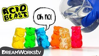 Acid vs. Gummy Bears: Who Wins?!? | ACID BLAST