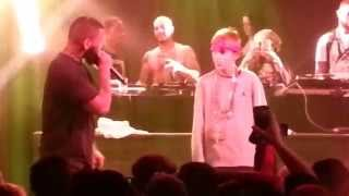 The Game brings out Lil Gangsta Kid New Pac in Frankfurt/Germany