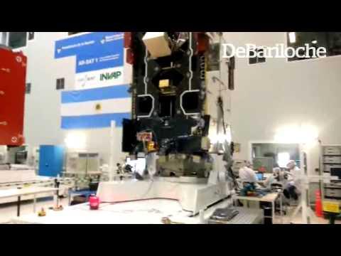BARILOCHE: El satélite Arsat 1 está listo para viajar a Guyana