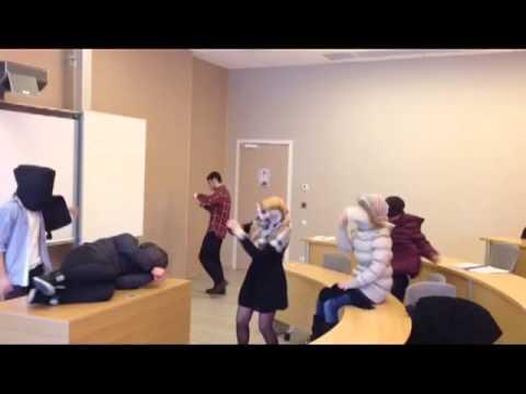 Harlem Shake in Azerbaijan Diplomatic Academy