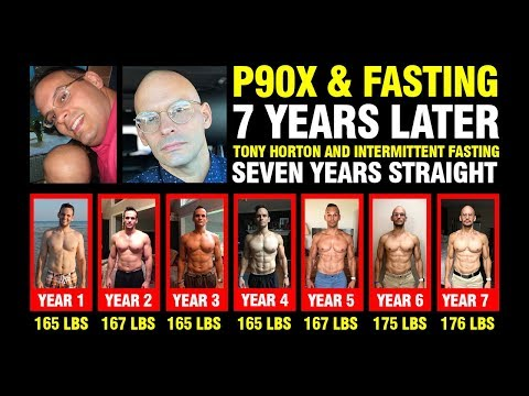 P90X + Intermittent Fasting Results - Seven Years Later
