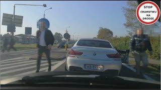 Białe BMW blokuje i zajeżdża drogę  #56 Wasze Filmy