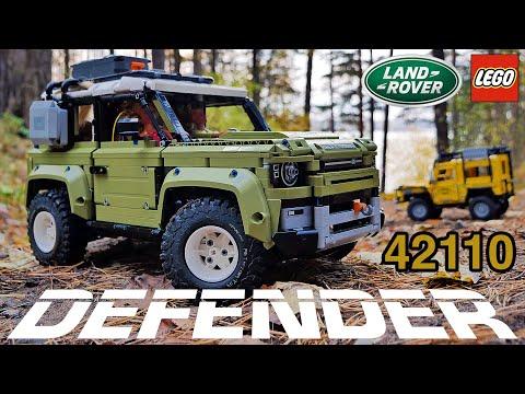 Land Rover Defender LEGO Technic 42110. Подробный обзор. Примерка колес и другое...