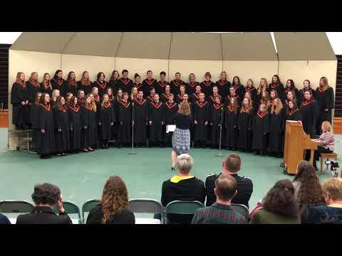 Madrid High School Choir- Medley from Les Miserables pt 1