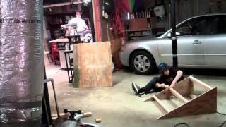 Building A Kicker Ramp In 70 Seconds