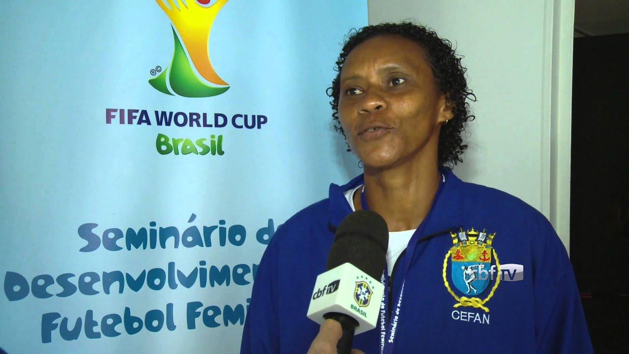 Tânia Maranhão e Maycon participam de seminário na CBF - YouTube