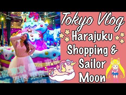 Tokyo Vlog: Harajuku Shopping And Sailor Moon