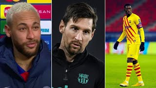 Neymar speaks out about playing with Messi again | Ousmane Dembele shines against Ferencvaros