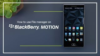 How to use the Files manager on BlackBerry Motion screenshot 5