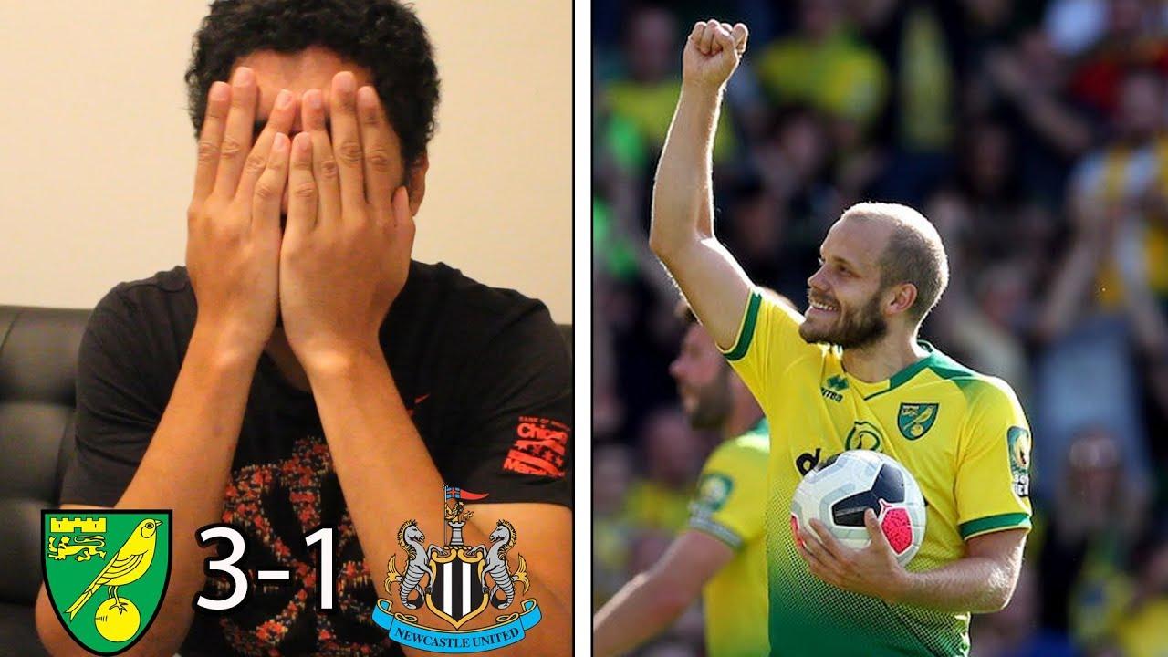 Teemu Pukki Is On Fire Norwich City 3 1 Newcastle