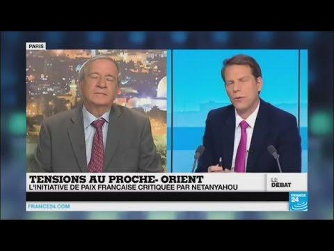 Proche-Orient : l'initiative de paix française critiquée par Benjamin Netanyahou