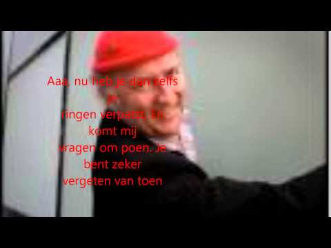 Je Loog Tegen Mij  Drukwerk met Harry Slinger (Lyrics)