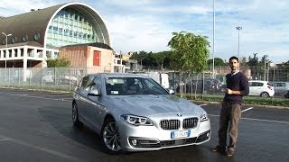 BMW Serie 5 Touring restyling - Prova su strada del 2.0 turbodiesel - Test Drive