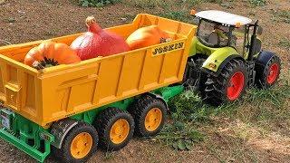 BRUDER Tractors for Children HALLOWEEN Fail BRUDER AMBULANCE!