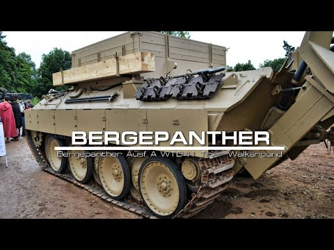 Bergepanther Ausf A(W Panther Ausf D hull)  WTD41 Trier Walkaround