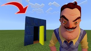 How to Make a SECRET DOOR to HELLO NEIGHBOR
