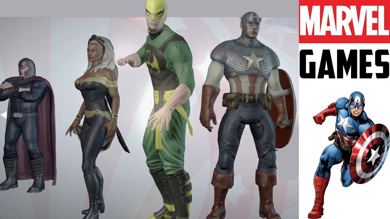 Marvel Ultimate Alliance 2 Team Captian America Stormion Fist Vs Capcom Infinite Reg 3 Fistmagneto