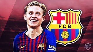 FRENKIE DE JONG - Welcome to Barcelona - Genius Skills Passes amp Assists - 20182019 HD
