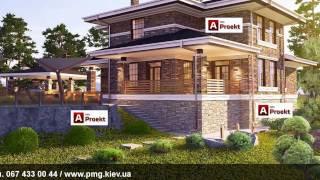 Проект дома в стиле Райта, компания Альфа-Проект, Киев, Украина(, 2017-01-10T18:55:08.000Z)