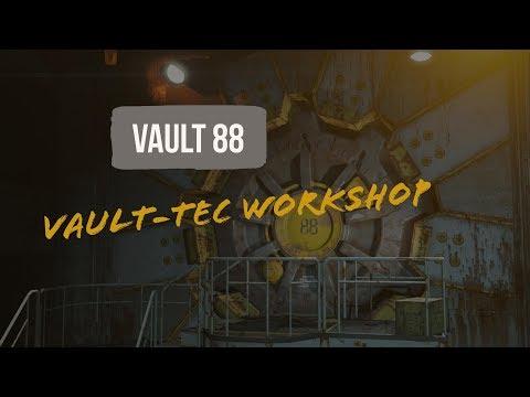 Fallout 4 | Building A MEGA Vault: Building Subs Custom Rooms! | Part 7