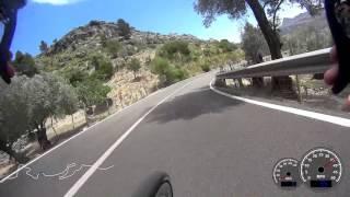 Mallorca Cycling - Lluc to Pollenca Descent