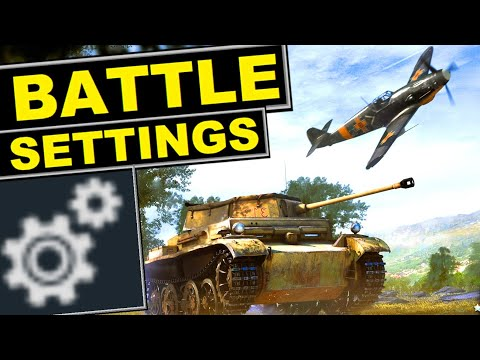 Battle Settings Guide 🔧  Customize Game Options To Increase Your Competitiveness
