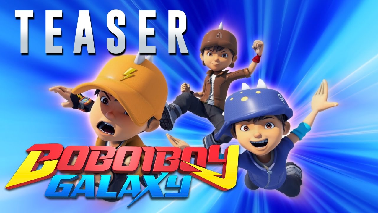 BoBoiBoy Galaxy Teaser YouTube