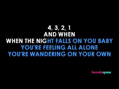 Karaoke I'll stand by you (The Pretenders) FULL KARAOKE HD
