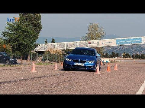 BMW Serie 4 Gran Coupé 2017 - Maniobra de esquiva (moose test) y eslalon | km77.com